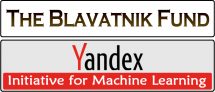 Research Centers & Institutes Blavatnik Fund for CS reserch & Yandex Initiative for Machine Learning